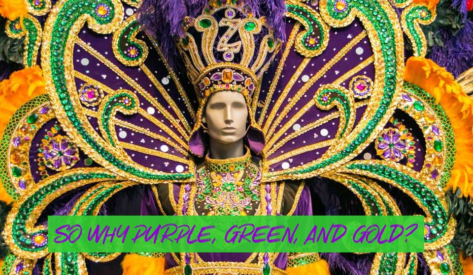 mardi gras official colors