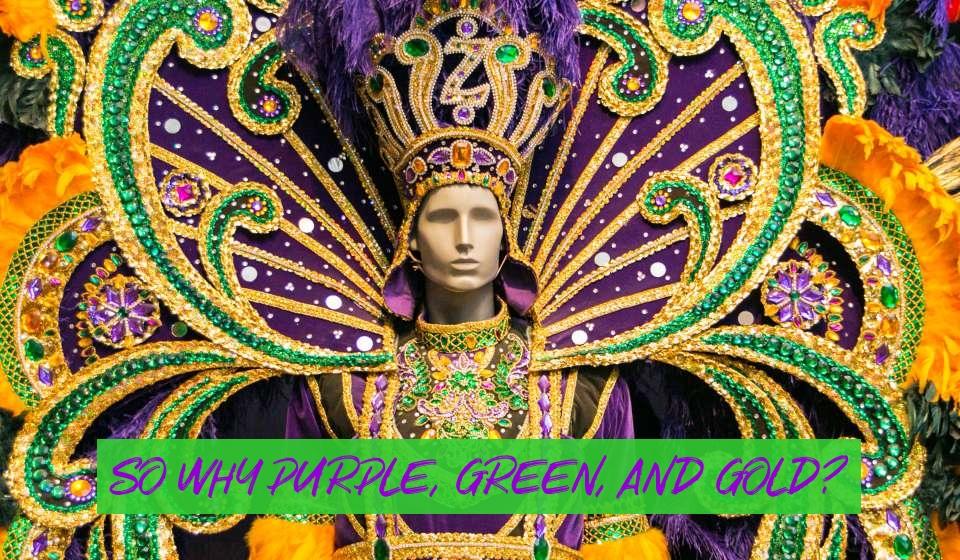 mardi gras official colors