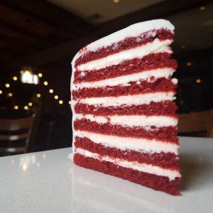 red velvet doberge cake