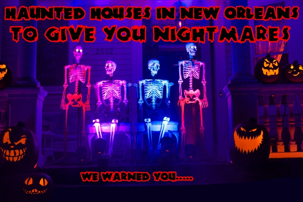 best haunted tours in New Orleans